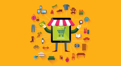 Online shopping and business