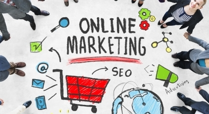 Online Marketing Business Global Purchase Networking Connection